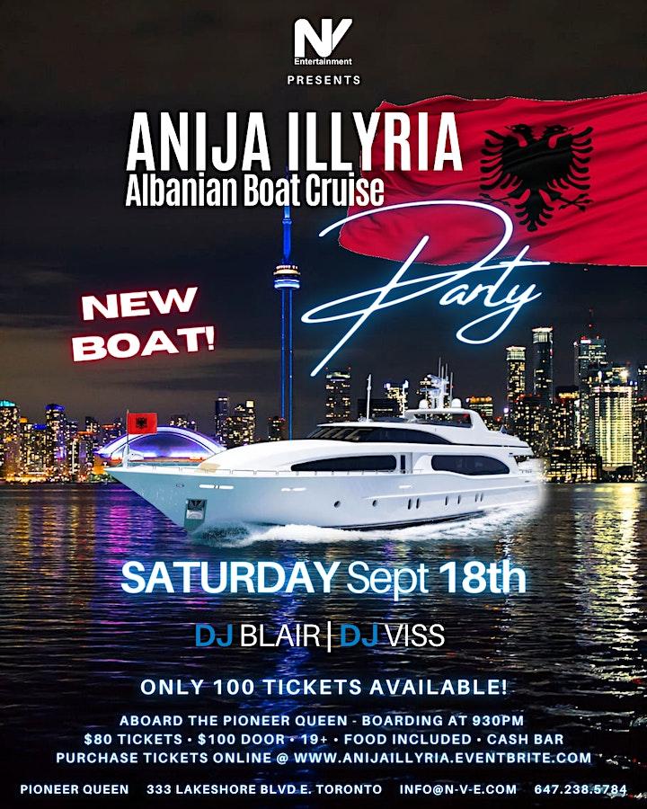 Anija Illyria - Albanian Boat Cruise Party image
