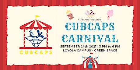 CUBCAPS Carnival 2021 billets