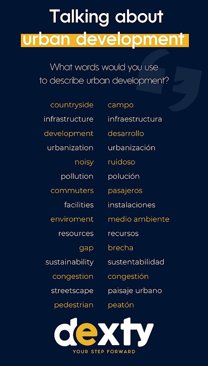 Imagen de Talking about urban development