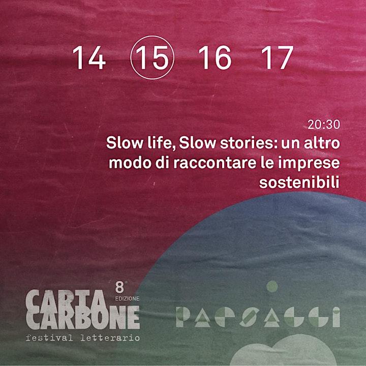 Immagine Slow life, Slow stories: un altro modo di raccontare le imprese sostenibili