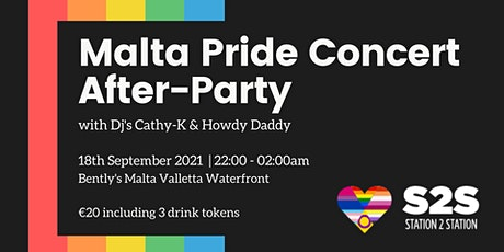 Malta Pride Concert - S2S After Party tickets
