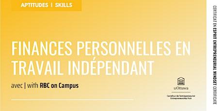 CEE : Finances personnelles en travail indépendant billets
