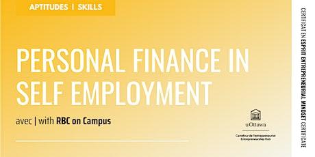 EMC: Personal Finance in Self Employment tickets