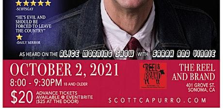 Scott Capurro at Reel & Brand! tickets