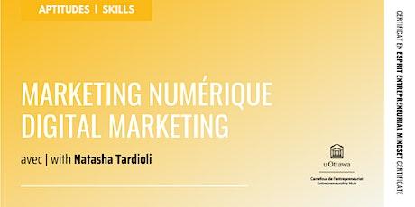 CEE : Marketing numérique | EMC: Digital Marketing tickets