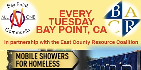 Every Tuesday: Free Food & Clothing Distribution In Bay Point, California tickets