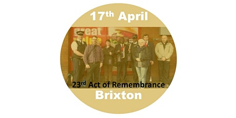 Brixton Act of Remembrance 2022 tickets