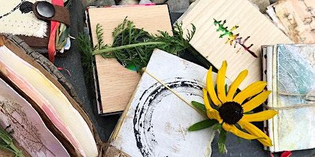 POSTPONED Adult Earth Art Series: Eco Art Journaling with Andrea Merredew tickets