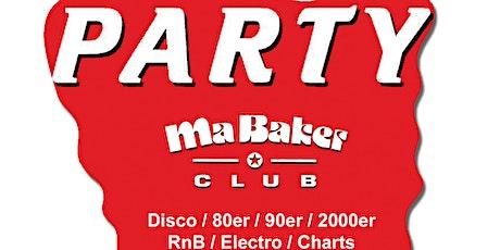 Ma Baker Party im Silverwings ✪ 70s - 2021s Dancefloor Tickets