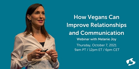 How Vegans Can Improve Relationships and Communication tickets