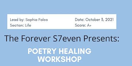 Poetry Healing Workshop tickets