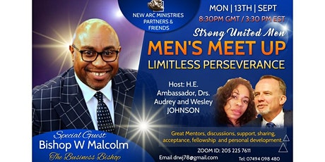 LIMITLESS PERSEVERANCE - STRONG UNITED MENS' MONTHLY CHRISTIAN MEETUP tickets