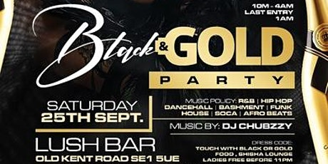 Black & Gold Party tickets