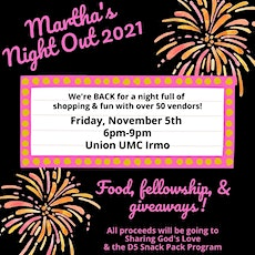Martha's Night Out 2021 tickets