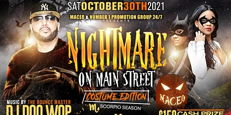 Nightmare on Main St Costume Edition DJ Doo Wop tickets