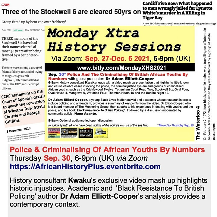 Police And The Criminalising Of British African Youths By Numbers image
