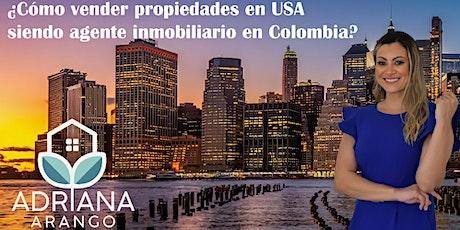 Vender propiedades en USA desde Colombia tickets