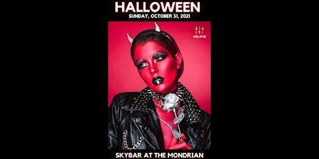 Halloween at Skybar at the Mondrian tickets