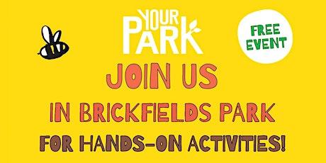 A more nature rich Brickfields Park -  Park Volunteering tickets