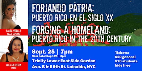 Forging a Homeland: Puerto Rico in the 20th Century tickets