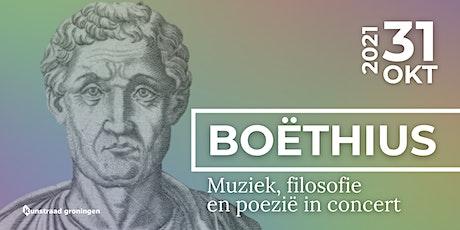 Boëthius - Muziek, filosofie en poezië tickets