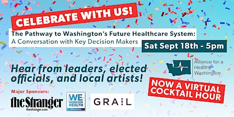 WA's Future Healthcare System:  Conversation w/Key Decision Makers tickets
