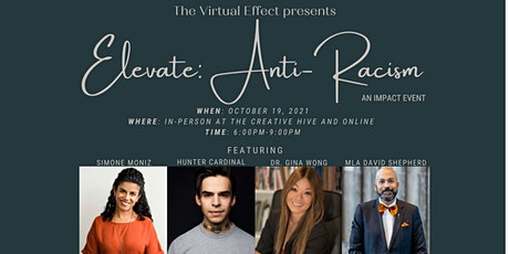 """The Virtual Effect presents """"Elevate: Anti-Racism"""" tickets"""