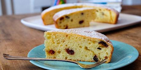 Online baking class (donation required): Orange Yoghurt Cake tickets