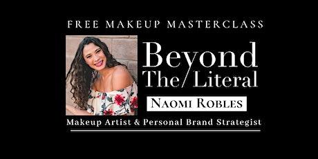 Personal Branding & Self Image | MAKEUP MASTERCLASS tickets