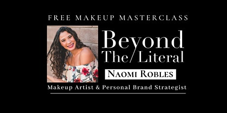 Personal Branding & Self Image| MAKEUP MASTERCLASS tickets