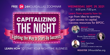 Capitalizing the Night: Lighting the Way to Start-Up Success tickets