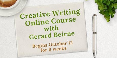 Creative Writing Online (6 Weeks) with Gerard Beirne tickets