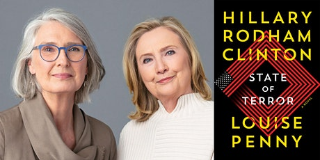 P&P Live! Louise Penny & Hillary Rodham Clinton | STATE OF TERROR: A NOVEL tickets