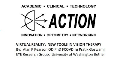 Virtual Reality:  New Tools in Vision Therapy – Workshop in 2 sessions