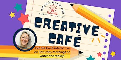 Holly's Creative Café: Terrifying Locations (16/10/21) tickets