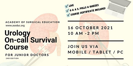 Urology On-Call Survival Course tickets