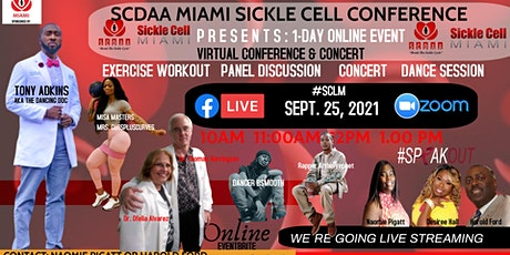 2021Sickle Cell Lives Matter (#SCLM) Virtual 1-Day Online  Walkathon, Panel tickets