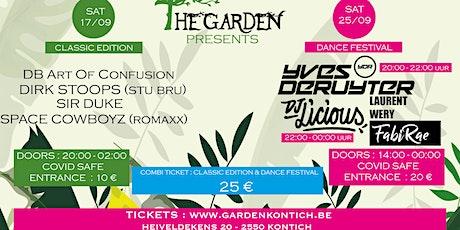 The garden combi ticket : classic edition & dance festival tickets