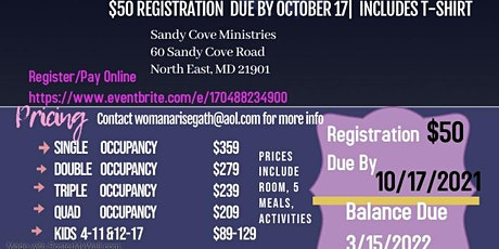 The Woman Arise Man Stand Up Activation Conference tickets