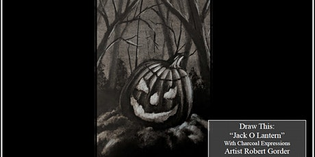 """Charcoal Drawing Event """"Jack O Lantern"""" in Wisconsin Dells tickets"""