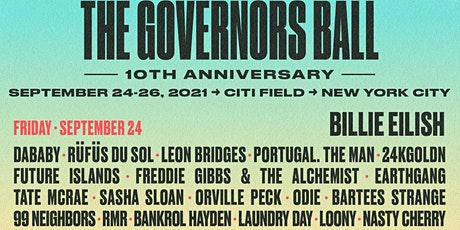 FRIDAY - Governor's Ball Ticket tickets