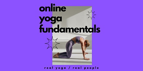 Fundamentals  Yoga Online Best Yoga Virtual Class - from Sydney Australia. tickets