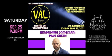The Val Show at The Comedy Chateau tickets