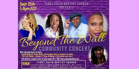 BEYOND THE WALL COMMUNITY CONCERT tickets