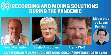 Recording and Mixing Solutions During the Pandemic tickets