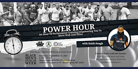 100 Black Men of Greater Washington DC Presents: POWER HOUR w/ Keith Pough tickets