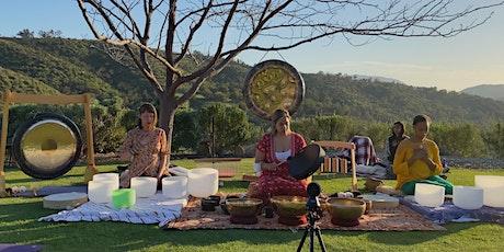 Friday Sunset Sound Meditation with Trinity of Sound  10-08-2021 tickets