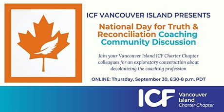 National Day for Truth & Reconciliation Coaching Community Discussion tickets