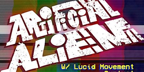 Artificial Alien w/ Lucid Movement, Sunlust & Pink Leather Jackets tickets
