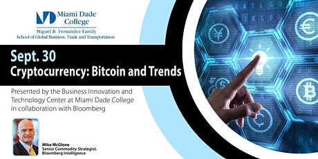 Cryptocurrencies Trends + Bitcoin by Bloomberg tickets
